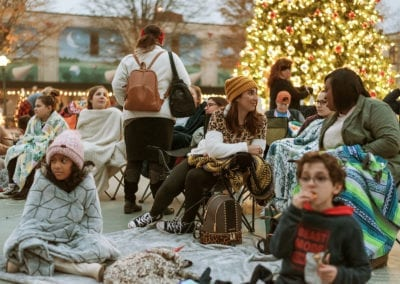DLU Christmas Finale // Movies in the Parc 2019